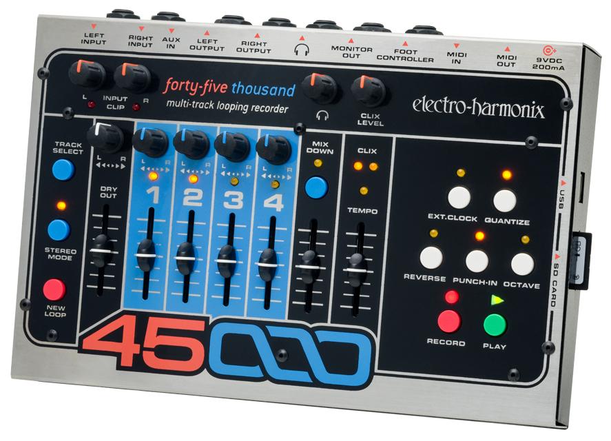 45000 multi track looping recorder 45000 electro harmonix. Black Bedroom Furniture Sets. Home Design Ideas