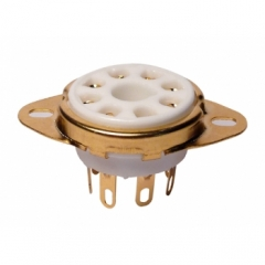 Gold Plated Tube Sockets