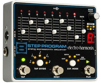 8 Step Program Analog Expression / CV Sequencer