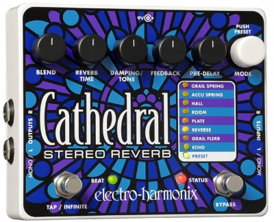 Electro-Harmonix Cathedral Reverb and Delay Pedal