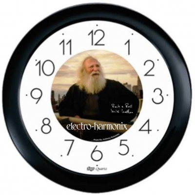Mike Matthews Wall Clock, Black