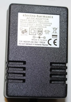 18V / 500mA European Power Adaptor