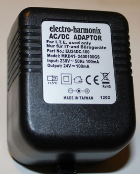 24V / 100mA European Power Adaptor
