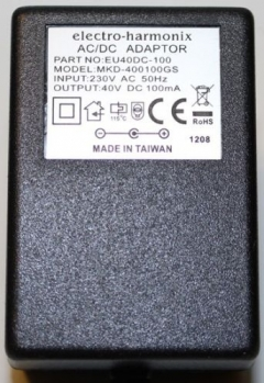 40V / 100mA European Power Adaptor