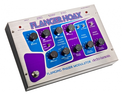 Electro-Harmonix Flanger Hoax pedal