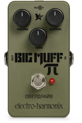 Green Russian Big Muff Distortion / Sustainer