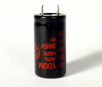 100Uf/385V JJ Electronic Radial Capacitor (RoHS)