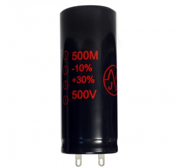 500Uf/500V JJ Electronic Radial Capacitor (RoHS)