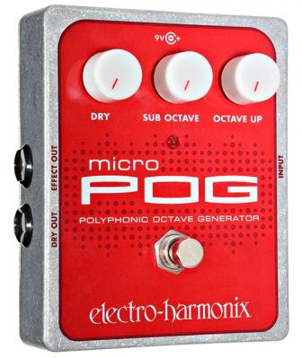 Electro-Harmonix Micro POG Polyphonic Octave Generator Pedal