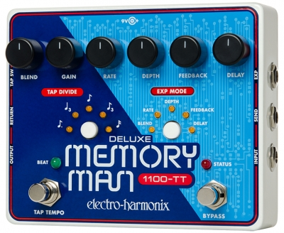 Deluxe Memory Man 1100-TT Analog Delay with Tap Tempo