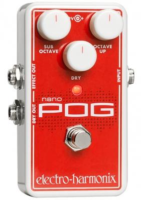 Electro-Harmonix Nano POG Polyphonic Octave Generator Pedal