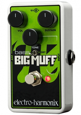 Nano Bass Big Muff Pi Distortion / Sustainer for Bass