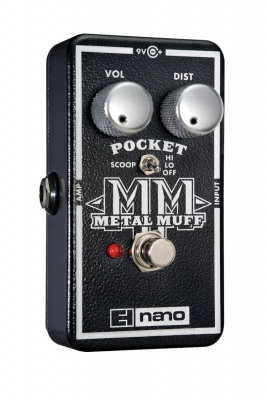 Pocket Metal Muff Distortion with Mid Scoop