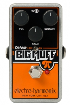 Op-Amp Big Muff Pi Distortion/Sustainer