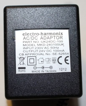 UK Effects Pedal Power Supplies | Electro-Harmonix | Electro